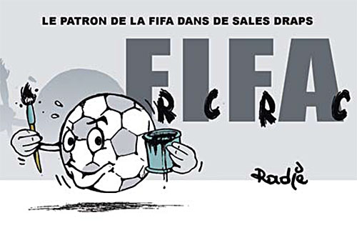 Le patron de la FIFA dans de sales draps - Ghir Hak - Les Débats - Gagdz.com