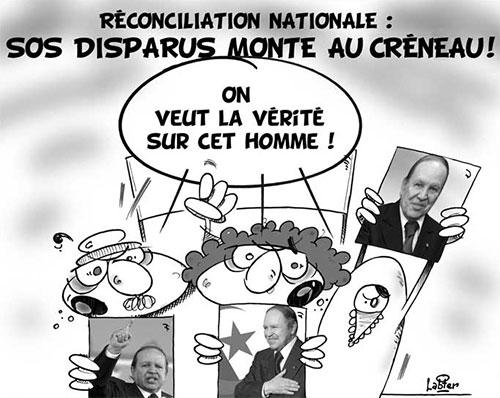 Réconciliation nationale: SOS disparus monte au créneau - Le Hic - El Watan - Gagdz.com