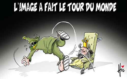 L'image a fait le tour du monde - Le Hic - El Watan - Gagdz.com