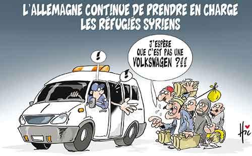 L'Allemagne continue de prendre en charge les réfugiés syriens - Le Hic - El Watan - Gagdz.com