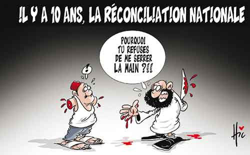 Il y a 10 ans, la réconciliation nationale - Le Hic - El Watan - Gagdz.com