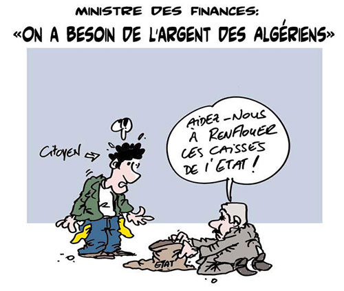 Ministre des finances: On a besoin de l'argent des algériens - loi de finances - Gagdz.com