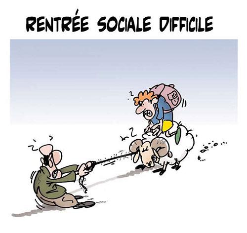 Rentrée sociale difficile - Lounis Le jour d'Algérie - Gagdz.com