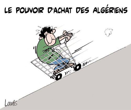 Le pouvoir d'achat des algériens - Lounis Le jour d'Algérie - Gagdz.com