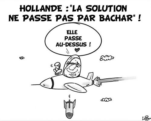 Hollande: La solution ne passe pas par Bachar - Vitamine - Le Soir d'Algérie - Gagdz.com