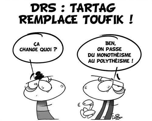 DRS: Tartag remplace Toufik - Vitamine - Le Soir d'Algérie - Gagdz.com