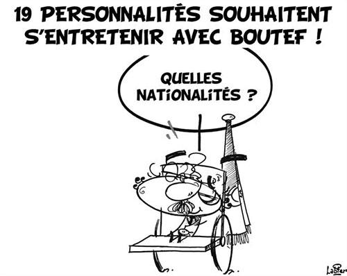 19 personnalités souhaite s'entretenir avec Bouteflika - Vitamine - Le Soir d'Algérie - Gagdz.com