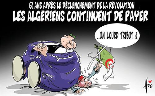 61 ans après le déclenchement de la révolution: Les Algériens continuent de payer - révolution - Gagdz.com