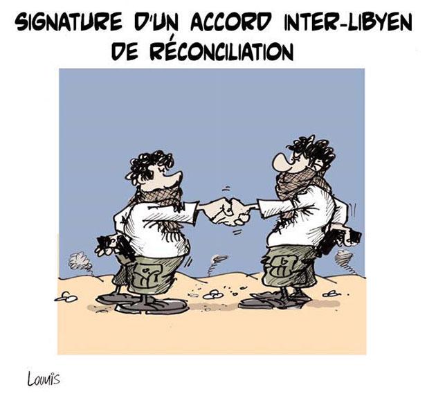 Signature d'un accord inter-libyen de réconciliation - réconciliation - Gagdz.com
