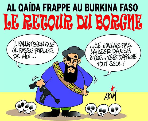 Al quaïda frappe au Burkina Faso