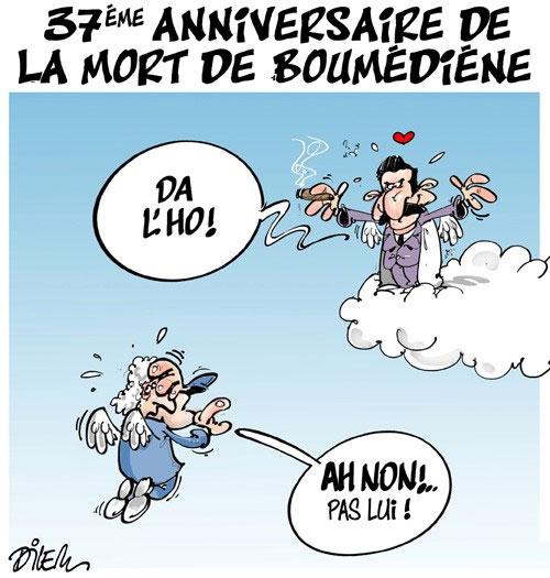 37ème anniversaire de la mort de Boumédiène - Dilem - Liberté - Gagdz.com