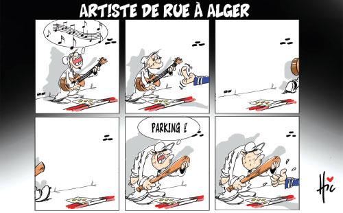 Artiste de rue à Alger - Le Hic - El Watan - Gagdz.com