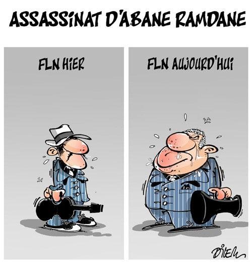 Assassinat d'Abane Ramdane - Dilem - Liberté - Gagdz.com