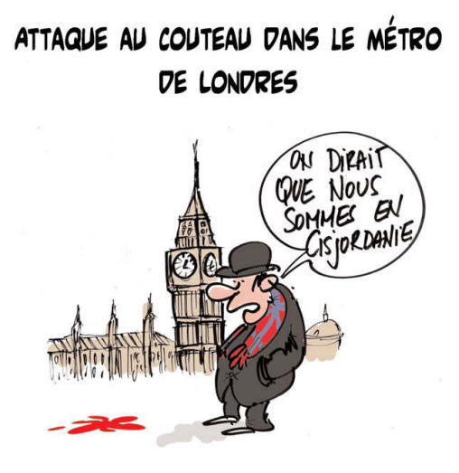 Attaque au couteau dans le métro de Londres - Royaume-Uni - Gagdz.com