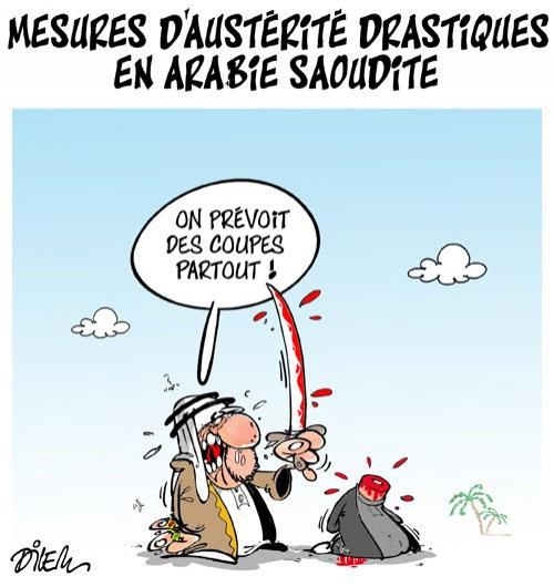 Mesures d'austérité drastiques en Arabie Saoudite - Dilem - Liberté - Gagdz.com