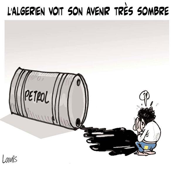 L'algérien voit son avenir très sombre - Lounis Le jour d'Algérie - Gagdz.com