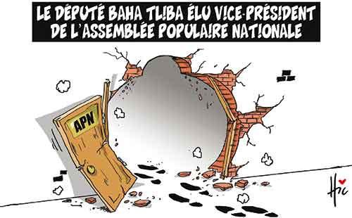 Le député Baha Tliba élu vice-président de l'assemblée populaire nationale - nationale - Gagdz.com