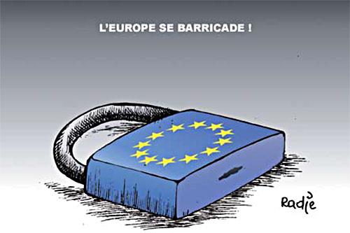 L'Europe se barricade