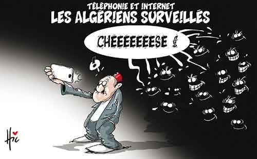 Téléphone et internet: Les Algériens surveillés - Le Hic - El Watan - Gagdz.com