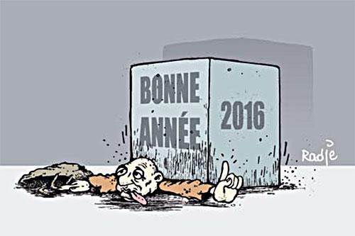 Bonne année 2016 - Ghir Hak - Les Débats - Gagdz.com