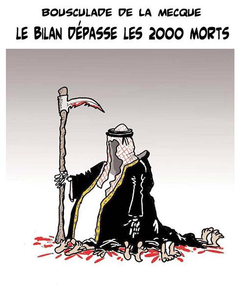 Bousculade de la Mecque: Le bilan dépasse les 2000 morts - Lounis Le jour d'Algérie - Gagdz.com