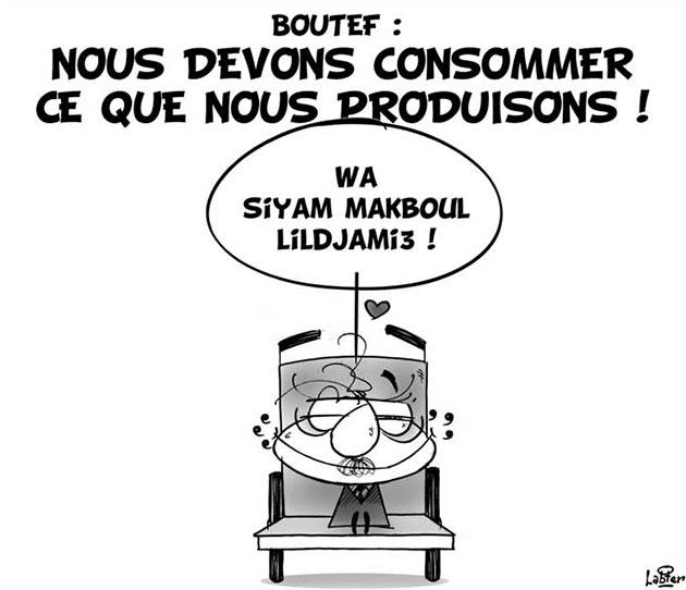 Boutef: Nous devons consommer ce que nous produisons - Vitamine - Le Soir d'Algérie - Gagdz.com