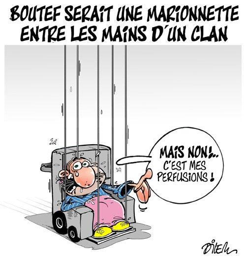 Boutef serait une marionnette entre les mains d'un clan - Dilem - Liberté - Gagdz.com