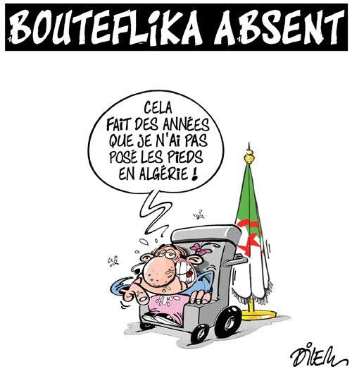Bouteflika absent - Dilem - Liberté - Gagdz.com