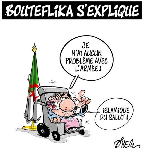 Bouteflika s'explique - Dilem - Liberté - Gagdz.com