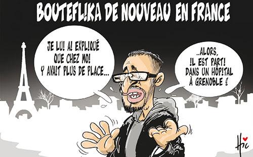 Bouteflika de nouveau en France - Le Hic - El Watan - Gagdz.com