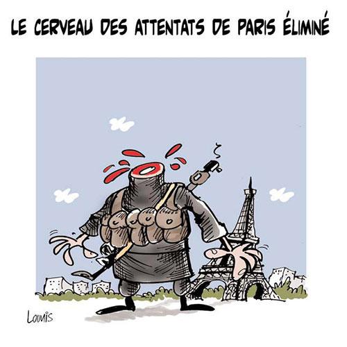 Le cerveau des attentats de Paris éliminé - Lounis Le jour d'Algérie - Gagdz.com