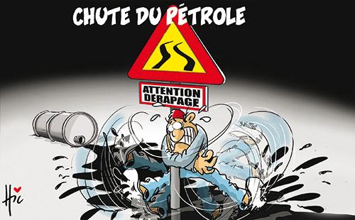 Chute du pétrole