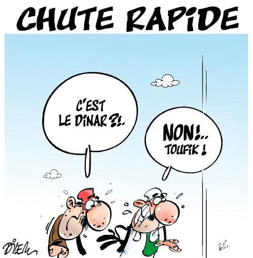 Chute rapide - Dilem - Liberté - Gagdz.com
