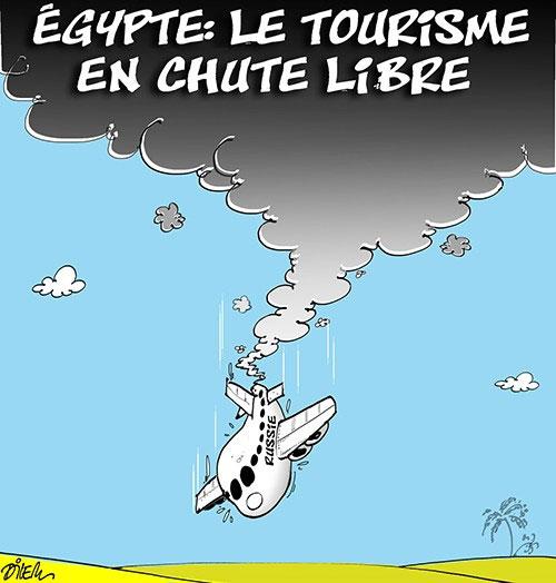 Egypte: Le tourisme en chute libre - Dilem - Liberté - Gagdz.com