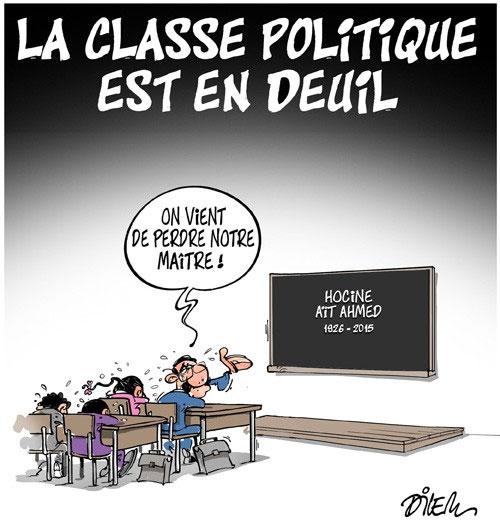 La classe politique est en deuil - Dilem - Liberté - Gagdz.com