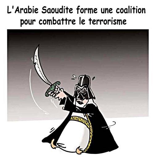 L'Arabie Saoudite forme une coalition pour combattre le terrorisme - Lounis Le jour d'Algérie - Gagdz.com