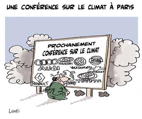 Une conférence sur le climat à Paris - Lounis Le jour d'Algérie - Gagdz.com