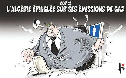 Cop 21: L'Algérie épinglée sur ses émissions de gaz - gaz - Gagdz.com