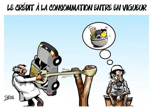 Le crédit à la consommation entre en vigueur - Sidou - Gagdz.com
