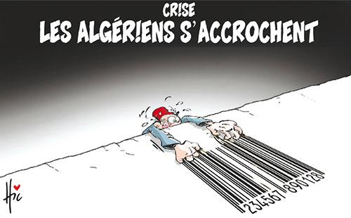 La crise expliquée aux algériens - Dessins et Caricatures, Lounis Le jour d'Algérie - Gagdz.com