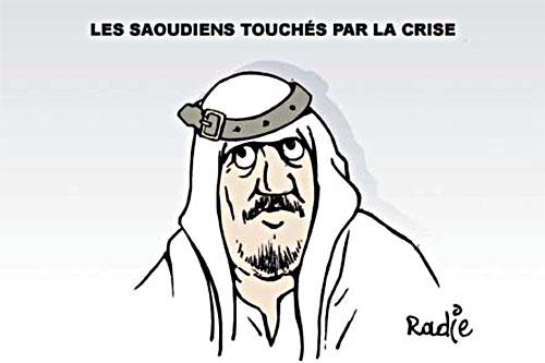 Les Saoudiens touchés par la crise - Ghir Hak - Les Débats - Gagdz.com