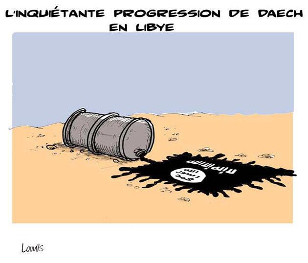 L'inquiétante progression de daech en libye - Lounis Le jour d'Algérie - Gagdz.com