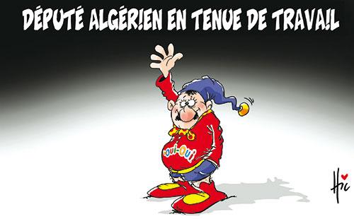 Député algérien en tenue de travail - Le Hic - El Watan - Gagdz.com