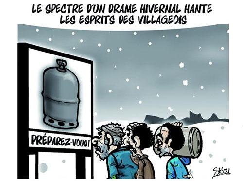 Le spectre d'un drame hivernal hante les esprits des villageois - Sidou - Gagdz.com
