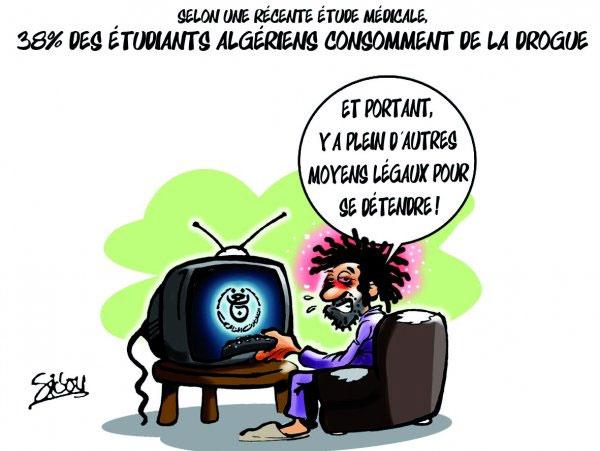 Selon une récente étude médicale: 38% des étudiants algériens consomment de la drogue - Sidou - Gagdz.com