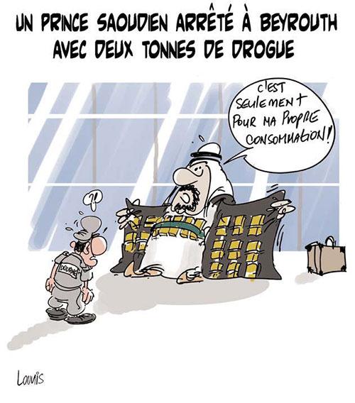 Un prince saoudien arrêté à Beyrouth avec deux tonnes de drogue - Lounis Le jour d'Algérie - Gagdz.com