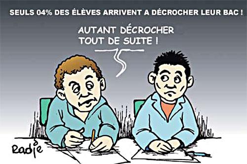 Seul 4% des élèves arrivent a décrocher leur bac - Ghir Hak - Les Débats - Gagdz.com