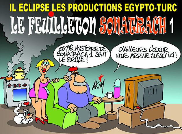 Il éclipse les productions égypto-turc: Le feuilleton sonatrach 1