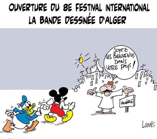 Ouverture du 8e festival international de la bande dessinée d'Alger - international - Gagdz.com