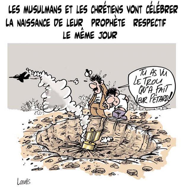 Les musulmans et les chrétiens vont célébrer la naissance de leur prophéte respectif le même jour - Lounis Le jour d'Algérie - Gagdz.com